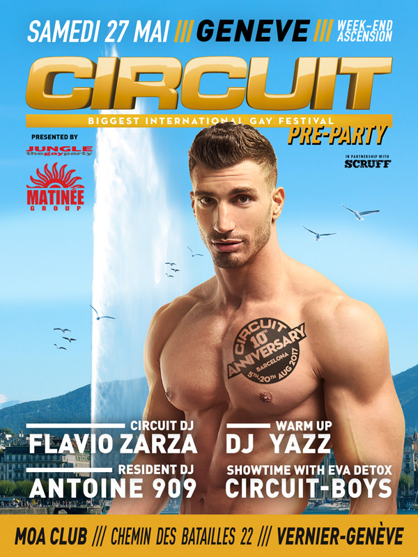 Circuit pre-party Geneva